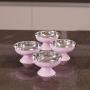 Taça Sorvete e Sobremesa 180ml Color Inox Attuale
