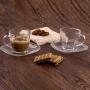 Xícara de Chá e Café 220ml - Vidro