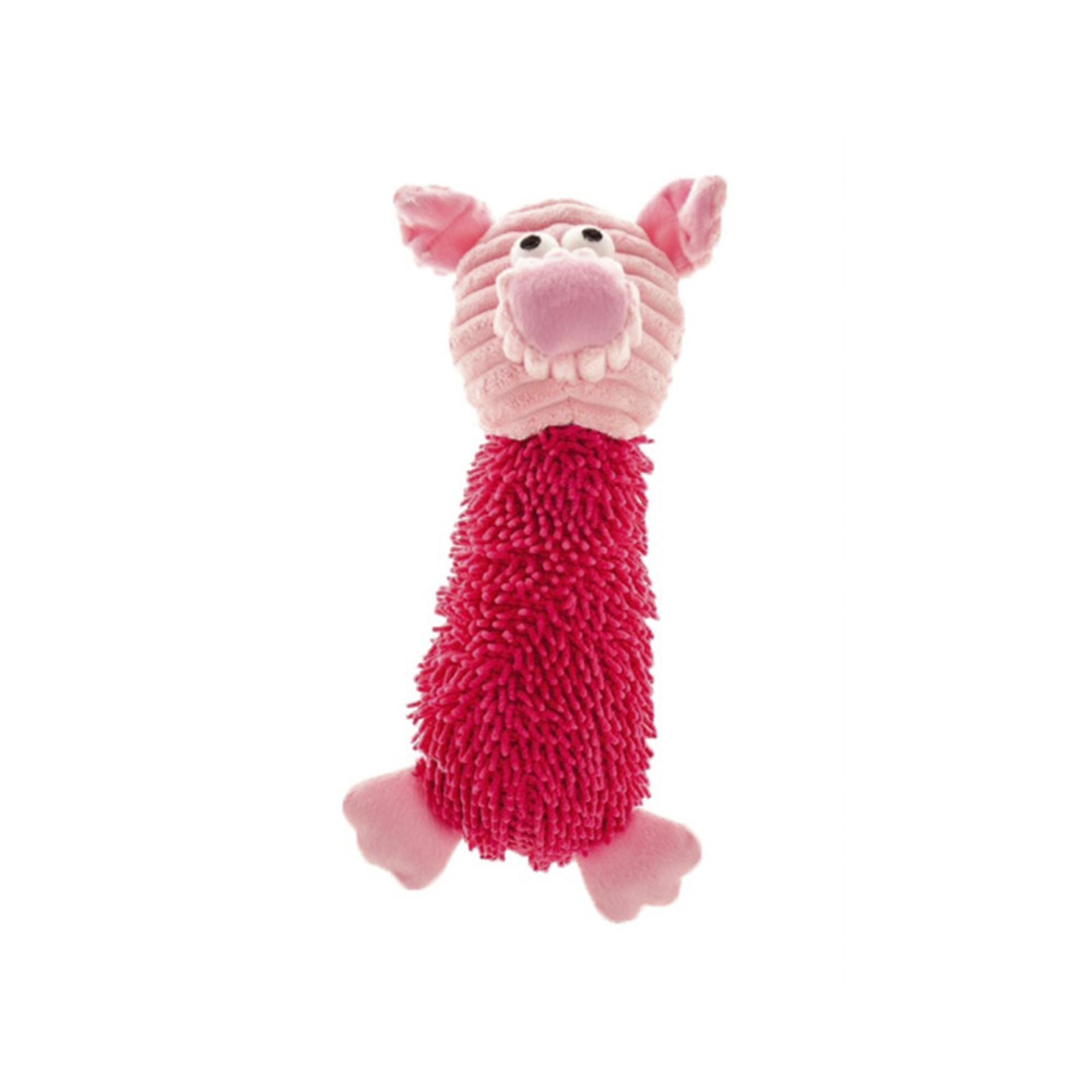 Mordedor Pet de Pelúcia Porco com Som