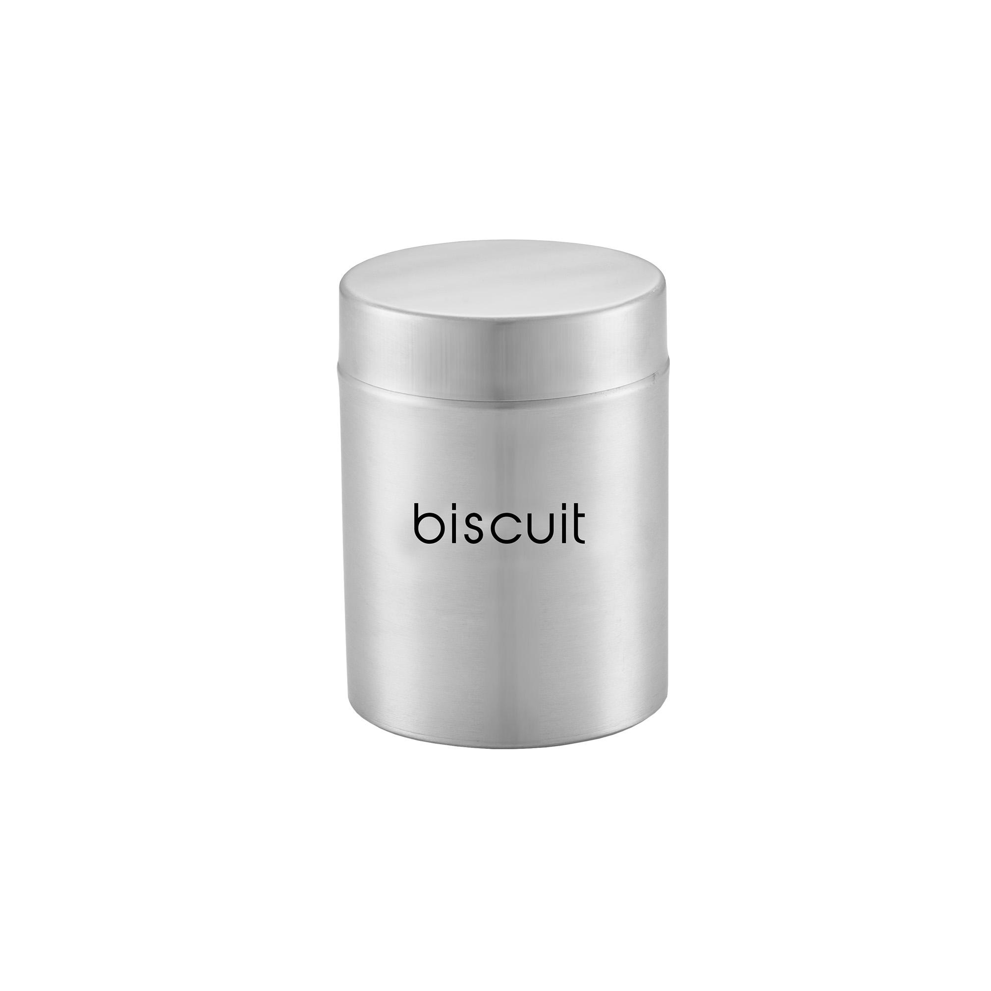 Pote para Biscoito 2,4 Litros Inox Attuale