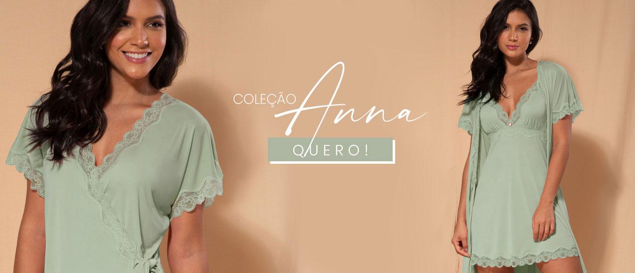 dias e noites de conforto com a coleção anna!