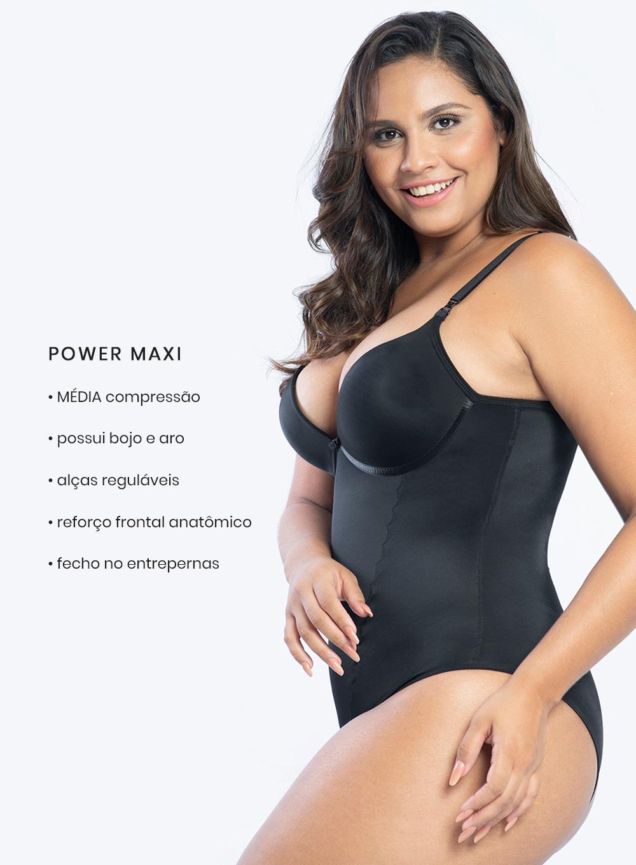 Body Modelador Power Maxi