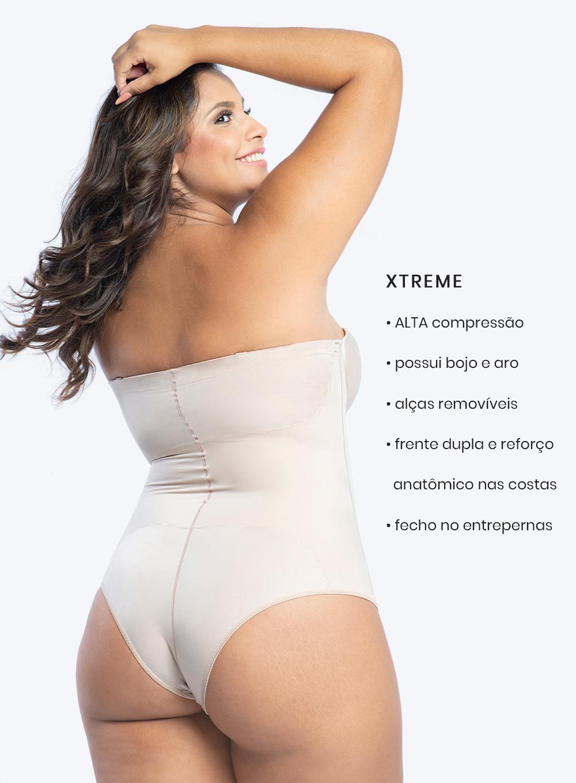 Body Modelador Sem Alças
