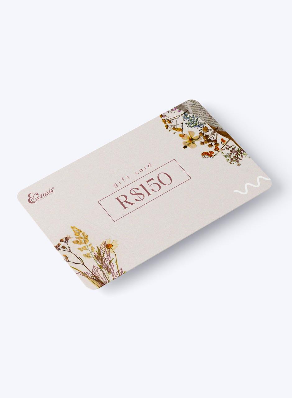 Gift Card Extasis - R$150