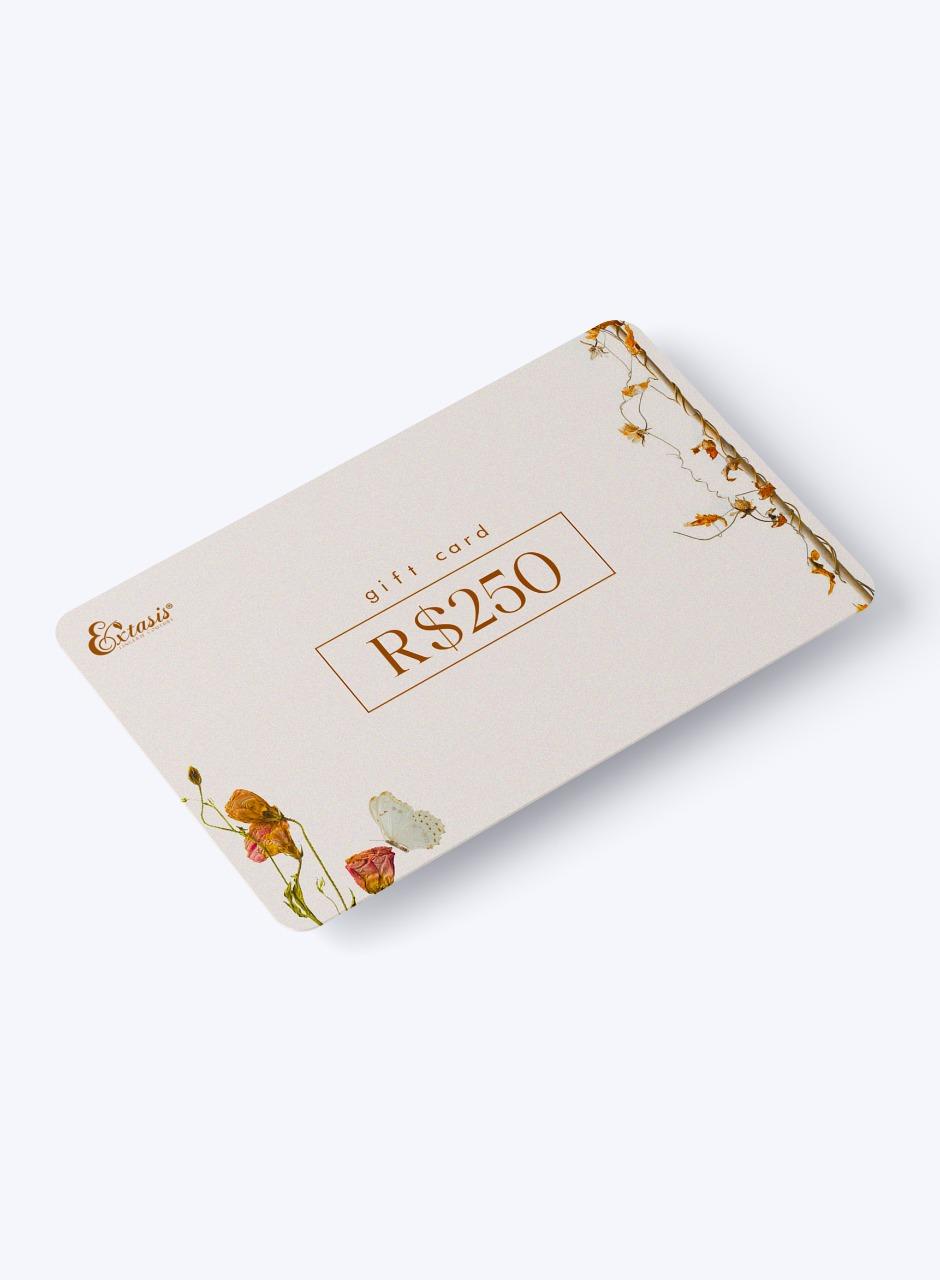 Gift Card Extasis - R$250