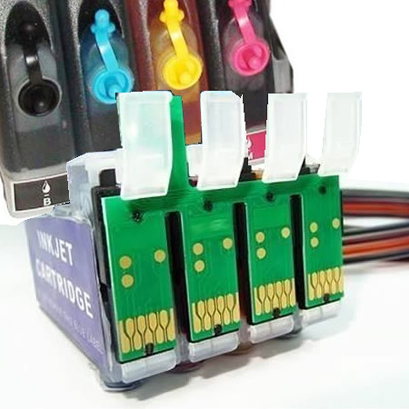 Bulk Ink Jetw TX200 TX220 CX7310 CX8300 CX9300F T23 TX210 TX213 TX300F TX400 TX409 TX410 CX5600 Para Epson