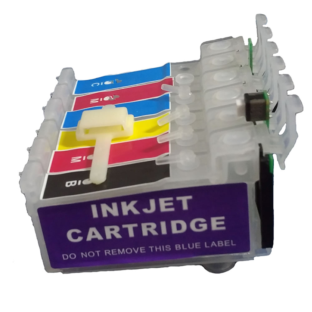 Bulk Ink Jetw R270 R290 R390 RX590 RX610 T50 TX650 TX700W TX710W TX720WD TX730WD TX800FW TX810FW Para Epson