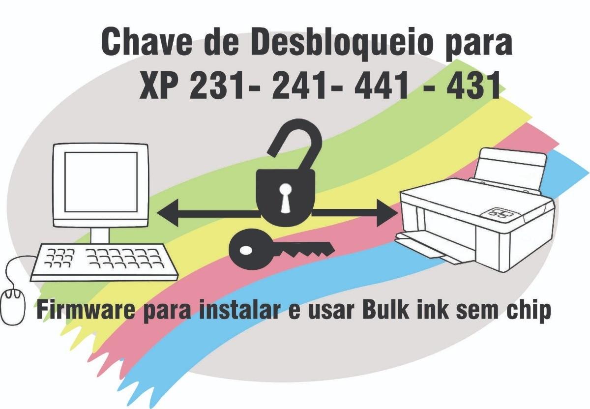Bulk Ink Jetw XP230 XP231 XP235 XP240 XP241 XP245 XP340 XP431 XP434 XP440 XP441 XP442 XP445 Para Epson + Chave de desbloqueio