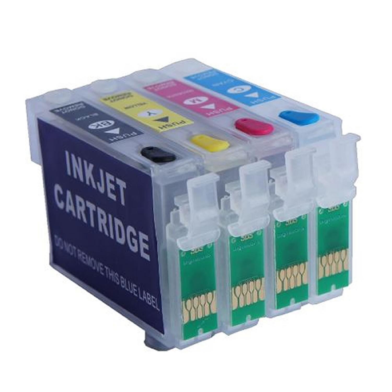 Cartucho Recarregável Jetw CX5600 C79 C90 C92 CX3900 CX4900 CX4905 CX5501 CX5505 CX5510 CX5900 CX6900F CX7300 Para Epson