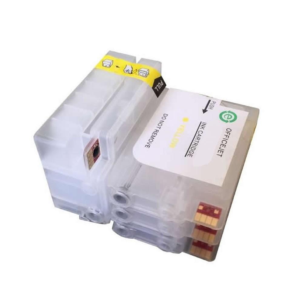 Cartucho Recarregável Jetw 6100 6700 6600 7110 7100 Para Hp