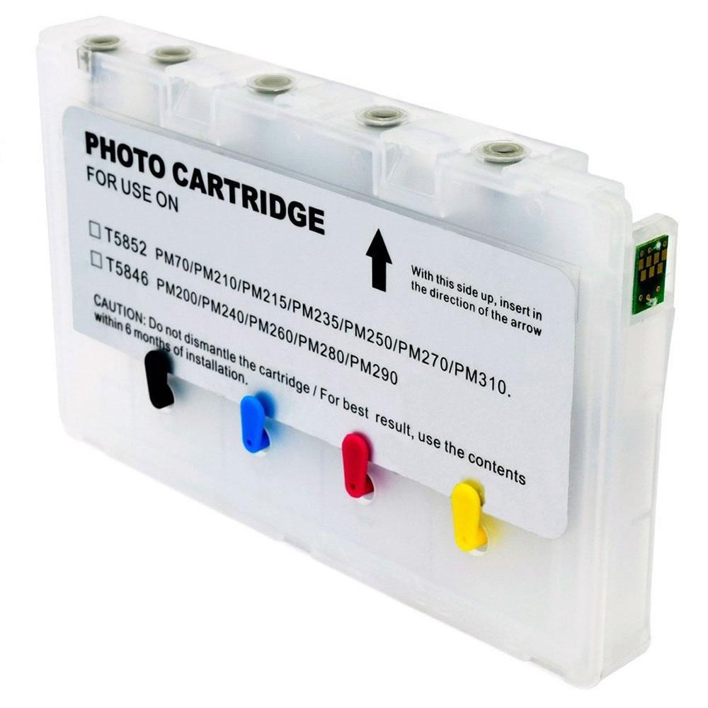 Cartucho Recarregável Jetw PM200 PM290 PM260 PM240 PM225 PM280 PM300 Para Epson