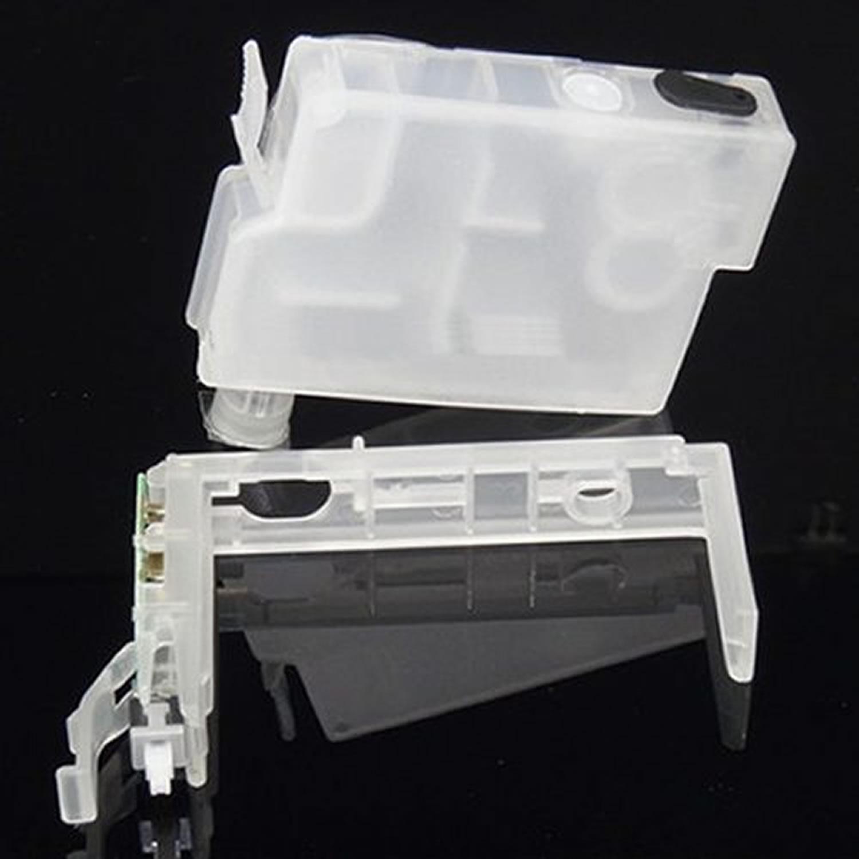 Cartucho Recarregável XP214 XP411 XP204 XP401 XP101 XP201 XP211 WF2532 Compativel com Epson + Tinta