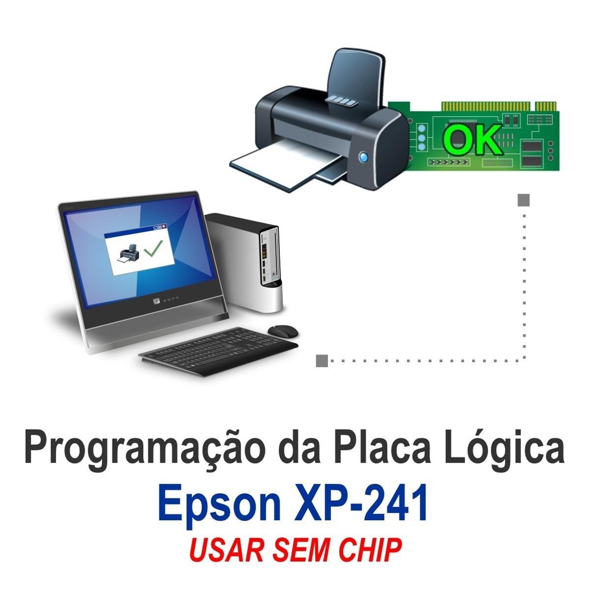 Chave de desbloqueio XP230 XP231 XP235 XP240 XP241 XP245 XP340 XP431 XP434 XP440 XP441 XP442 XP445 para Epson