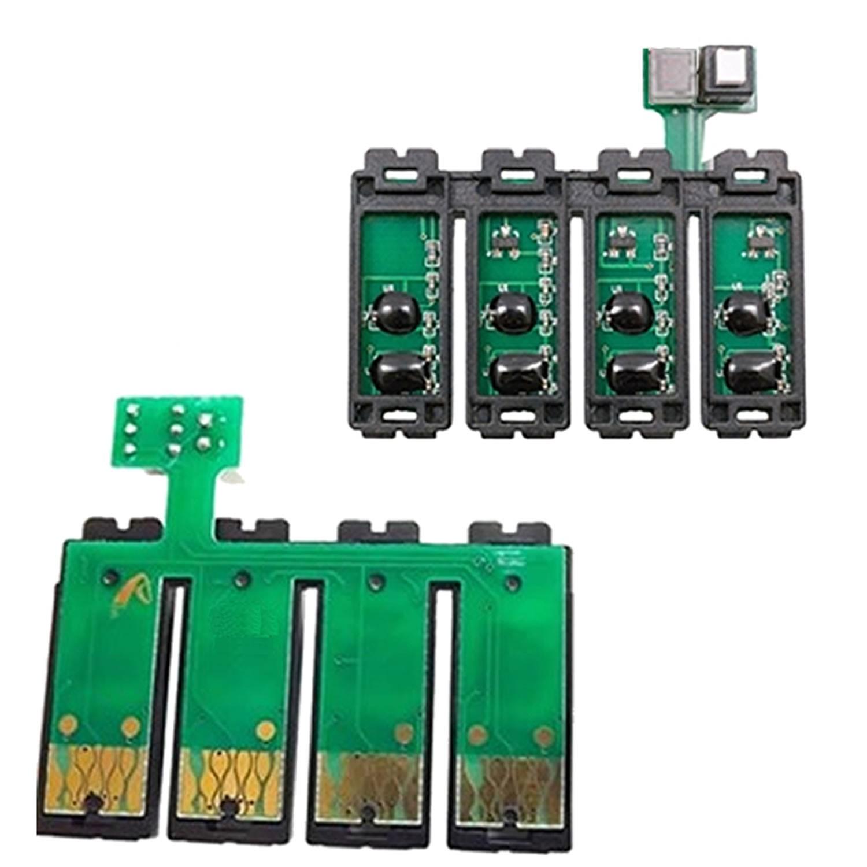 Chip Full Botão Reset T23 T24 TX105 TX115 117nr 117r para Epson - Atualizado