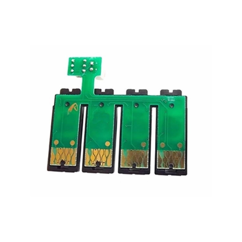 Chip Full Botão Reset XP214 XP411 XP204 XP401 XP101 XP201 XP211 WF2532 197r para Epson - Atualizado