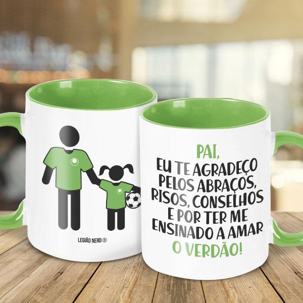 Caneca Pai Palmeirense - feminina
