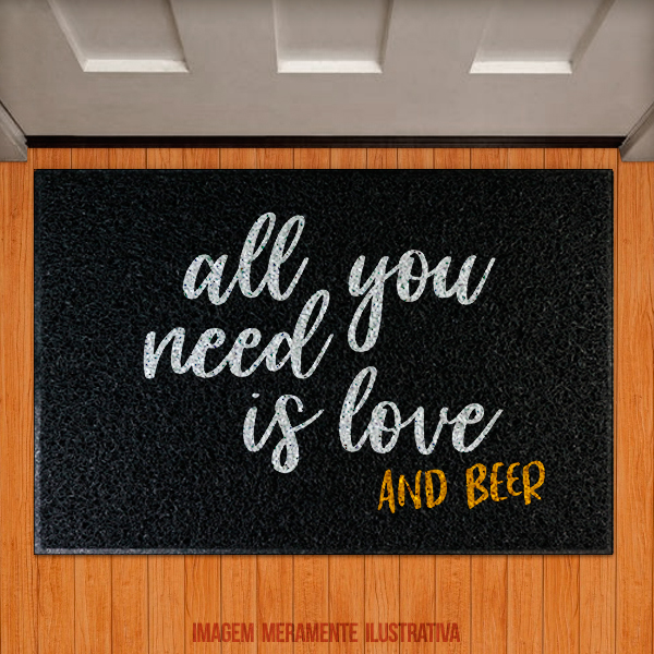 Capacho All you need is love and beer