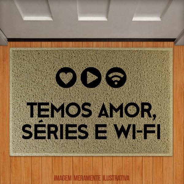 Capacho Amor Séries e Wifi