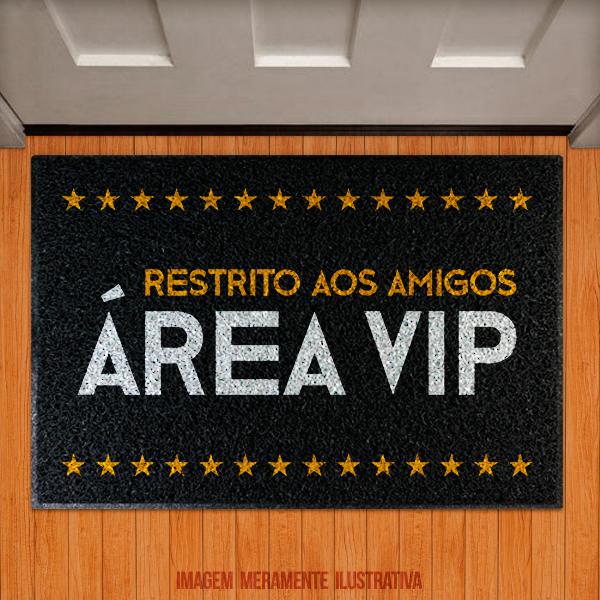 Capacho Área VIP! Restrito aos amigos