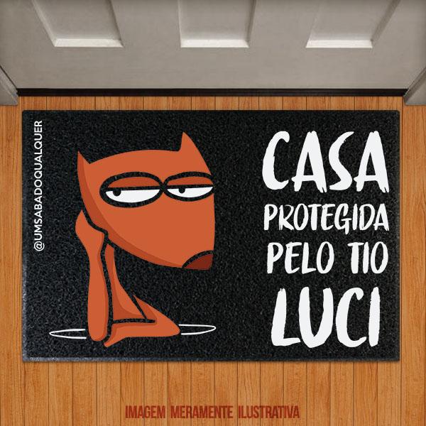 Capacho Casa protegida por Luci - USQ