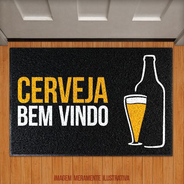 Capacho Cerveja bem vindo