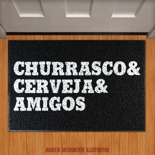 Capacho Churrasco Cerveja e amigos