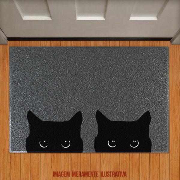 Capacho Gatinhos Meow (2 gatos)