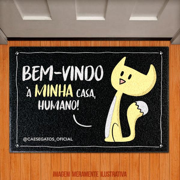 Capacho Gato - Bem-vindo a minha casa - USQ