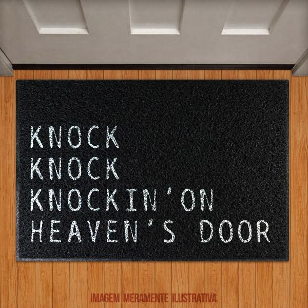 Capacho Knock on heavens door