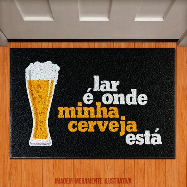 Capacho Lar é onde minha cerveja está