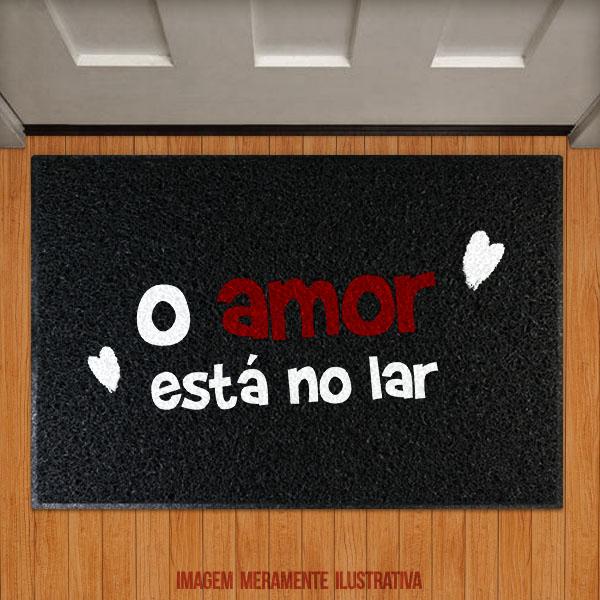 Capacho O amor está no Lar