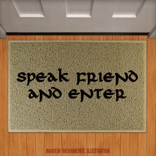 Capacho Speak Friend