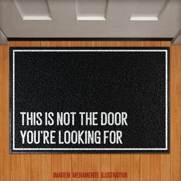 Capacho This is not the door