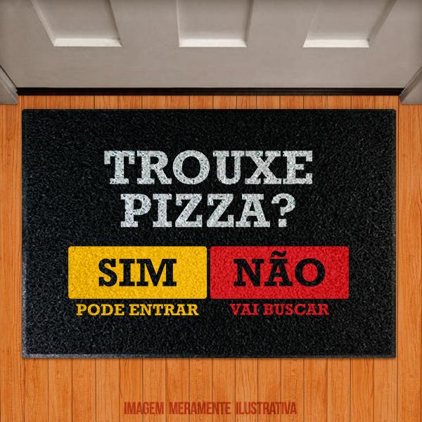 Capacho Trouxe Pizza?