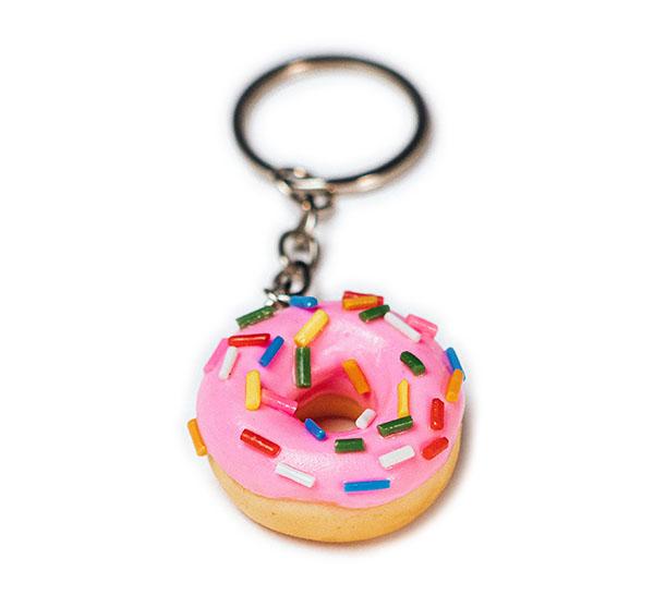 Chaveiro de comida - Donuts