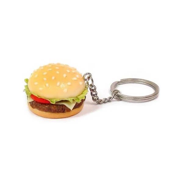 Chaveiro de comida - Sanduiche X-Salada