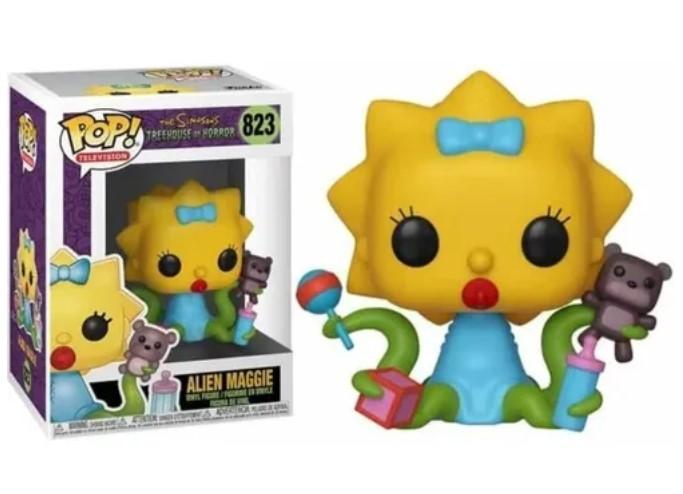 Funko POP -  Alien Maggie - Simpsons #823