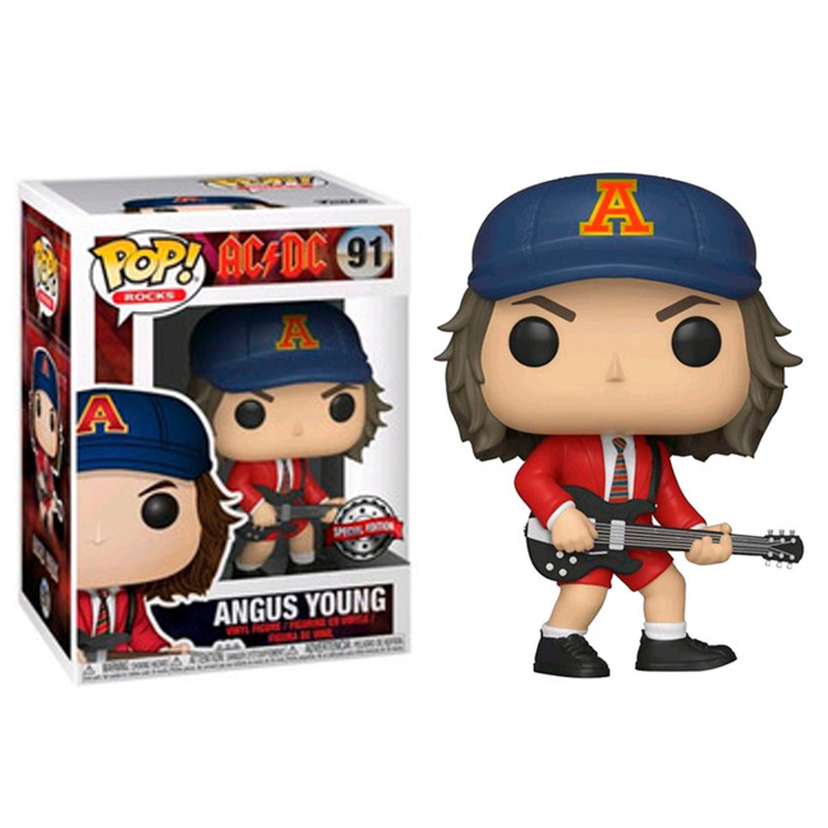 Funko POP -  Angus Young - AC/DC #91