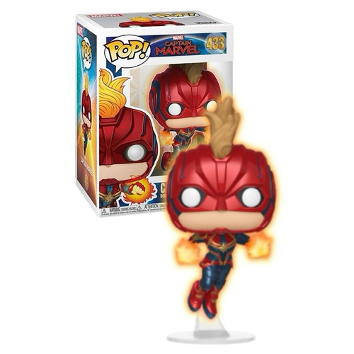 Funko POP - Capitã Marvel #433