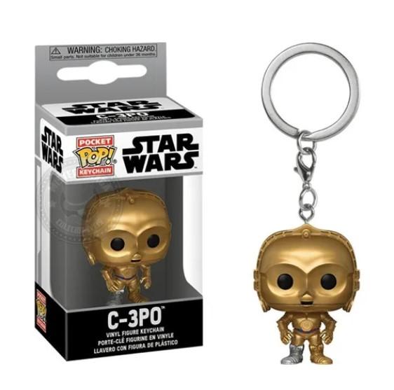 Funko POP Chaveiro - C-3PO - Star Wars
