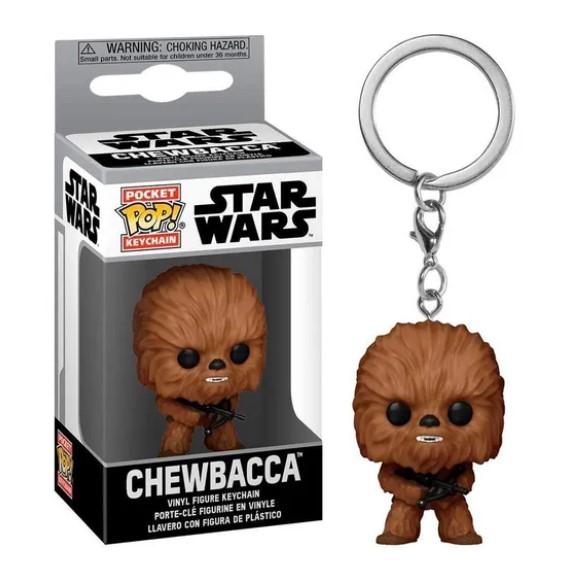 Funko POP Chaveiro - Chewbacca - Star Wars