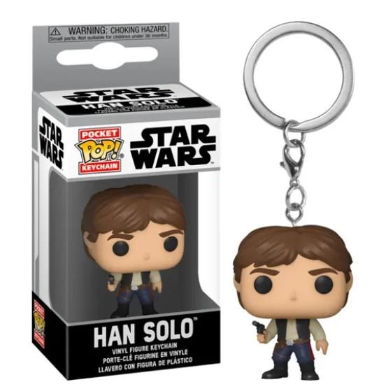 Funko POP Chaveiro - Han Solo - Star Wars