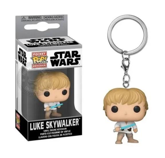 Funko POP Chaveiro - Luke Skywalker - Star Wars