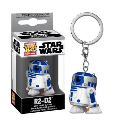 Funko POP Chaveiro - R2-D2 - Star Wars