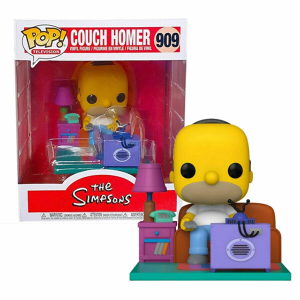 Funko POP -  COUCH Homer - Simpsons #909