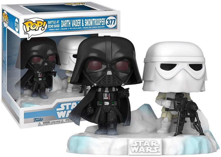 Funko POP -  Darth Vader & Snowtrooper - STAR WARS - #377