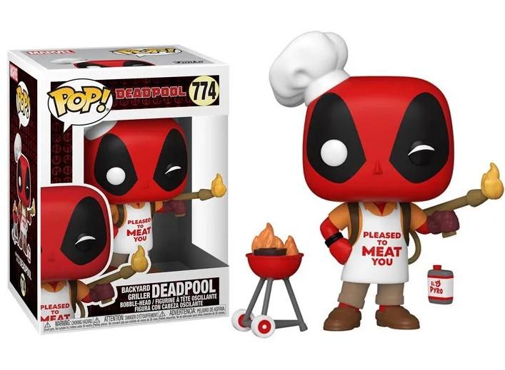 Funko POP - Deadpool Backyard Griller #774