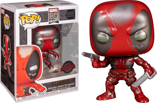 Funko POP - Deadpool - Marvel 80 anos #590
