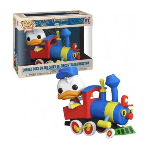Funko POP - Donald Duck on the casey Jr. Circus Train #01