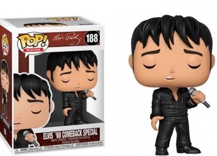 Funko POP -  Elvis Presley 68 comeback special - #188